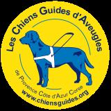 Logo - Les Chiens guides d'aveugles de Provence Côte d'Azur Corse