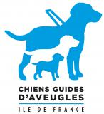 Logo des Chiens guides d'aveugles d'Ile-de-France